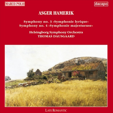 Hamerik: Symphonies Nos. 3 & 4