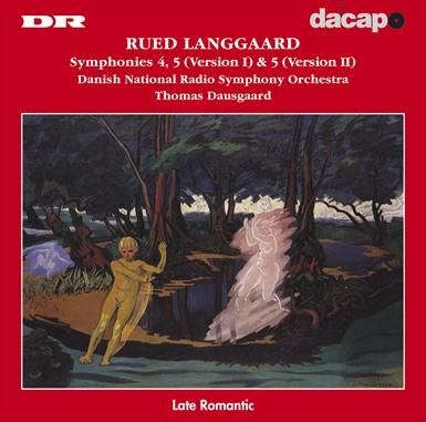 Langgaard: Symphonies 4-5