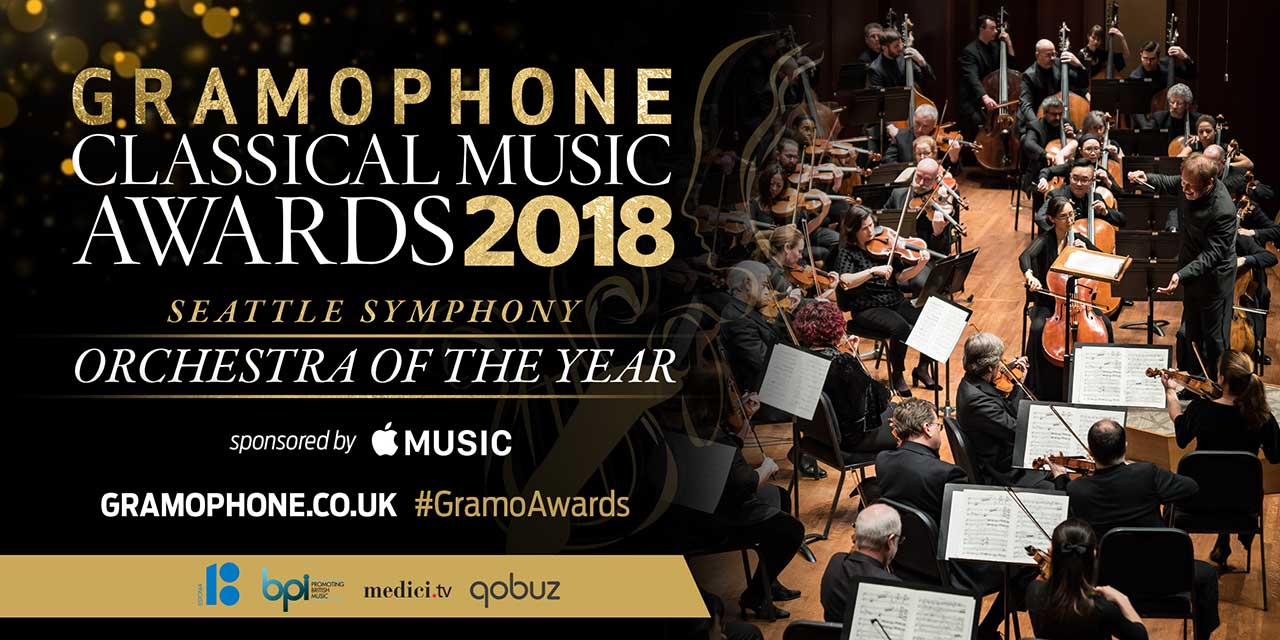 Congratulations to Seattle Symphony – Winner of the Orchestra of the Year Gramophone Award